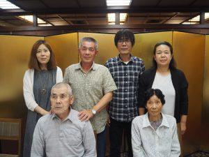 米寿のお祝い(両親と4人の兄弟)