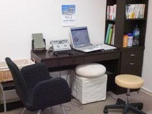こちらは第2施術室です経絡セラピー・EFTなどを行います