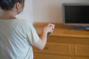 最近テレビを見る時間が減りました