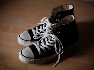足にっフィットした靴
